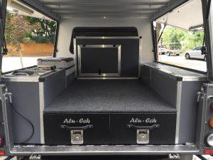 Alu Cab Schubladensystem