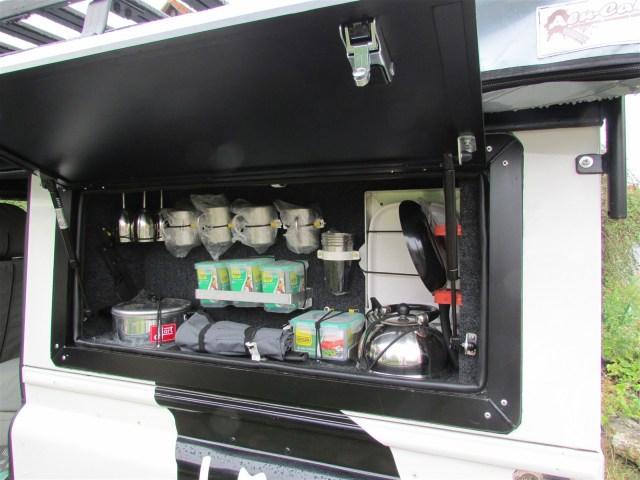 Alu-Cab Fenster-Box für Defender 110