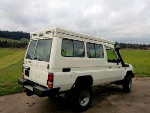 AluCab Hubdach Toyota Hzj_4
