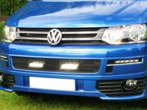 Lazer Lamps Scheinwerfer Zubehör Kühlergrilleinsatz VW T5_6