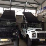 Umbau Defender110 AluCab Hubdach & Markise - 9